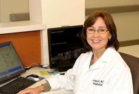Dr. Jennie Jet at Desk